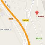 Ubicación Alredes: Camino Vereda 1, Partida La Foia, 46439 El Romaní, Valencia, España